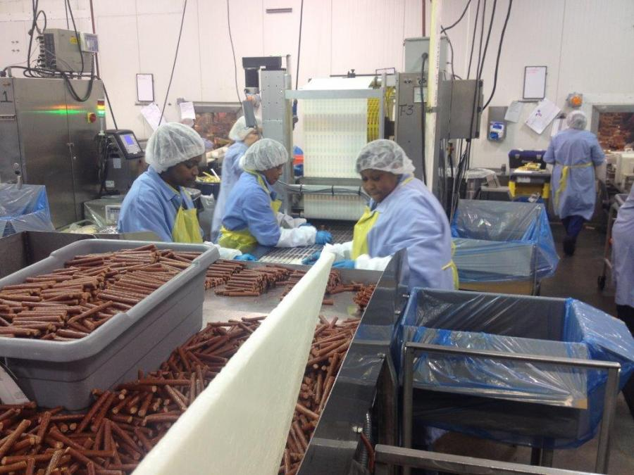 Monogram Foods manufactures and distributes top-quality processed meat products. Greenline's funding helped the company expand into its non-metropolitan Martinsville, VA production facility, creating 200 new jobs accessible to the low-income community.