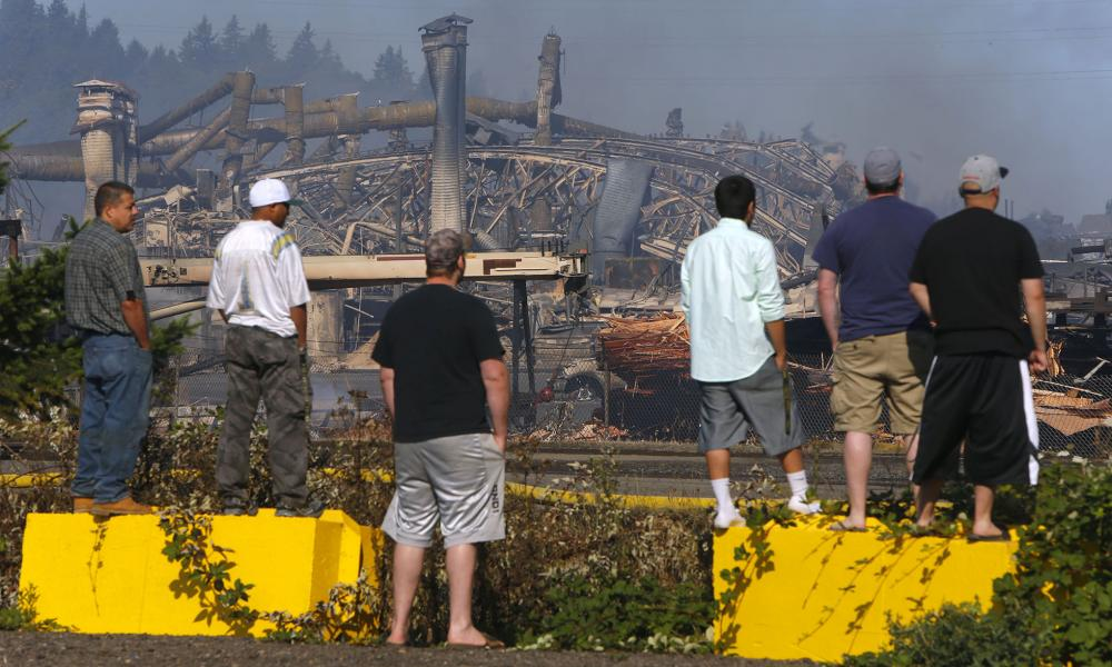 The Swanson Group | Springfield, OR (Photo Credit - Andy Nelson/The Register-Guard)